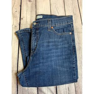 LEVI 512 PERFECTLY SLIMMING BOOTCUT JEANS.